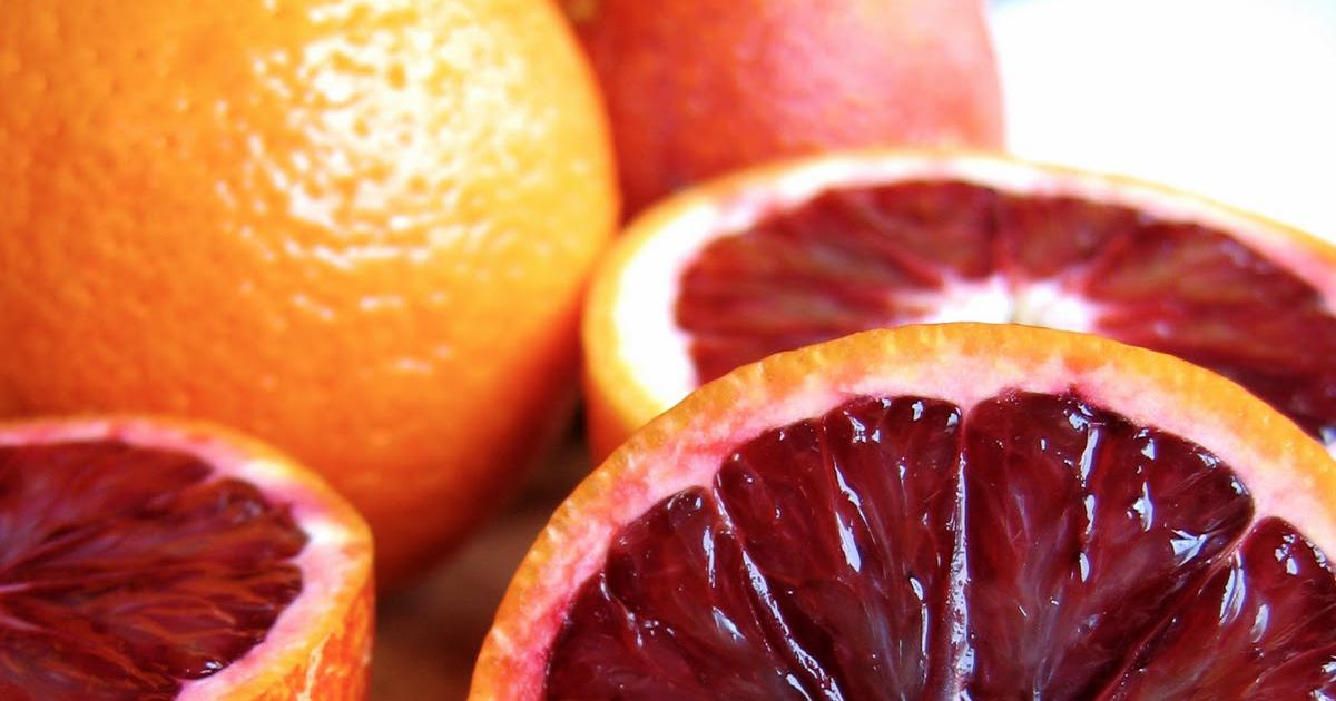 Orange sanguine, blood orange