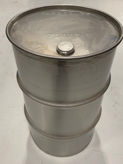 Baril acier inoxydable 151l, drum stainless 40 gallons