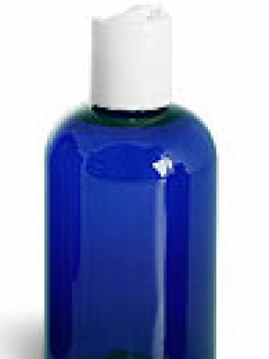 PET Cobalt 24GL bouchon disk top, cobalt PET bottle 24GL disk top cap